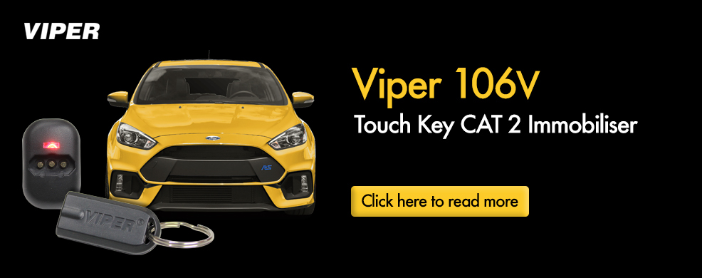 Viper 106V Touch Key CAT 2 Immobiliser