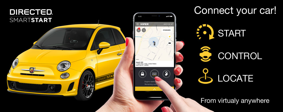 Start, controll and locate your vehicle from virtually anywhere from your smartphone.
